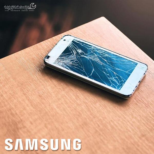 تعویض گلس موبایل سامسونگ