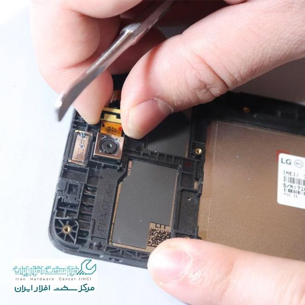 تعمیر دوربین گوشی ال جی