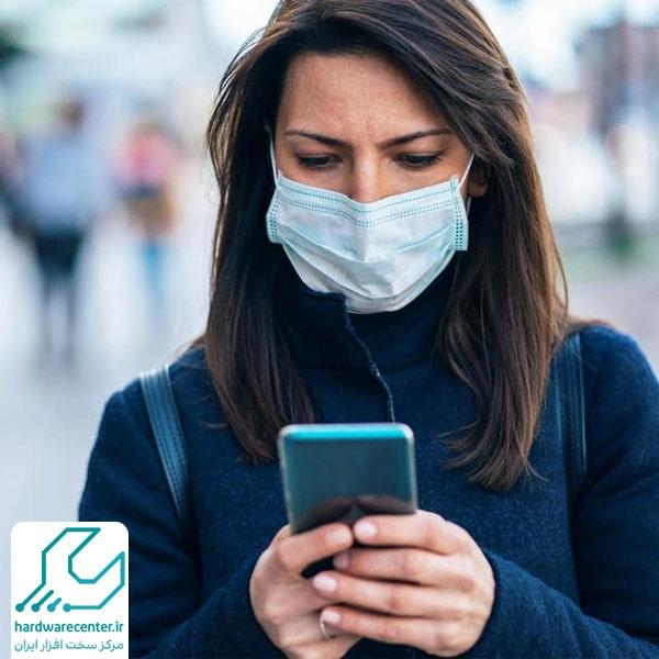تنظیم فیس آیدی گوشی با ماسک